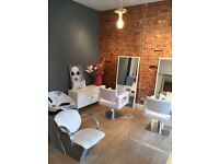 2X Hairdressers Chairs &Backwash for Rent in Well Established Beauty Salon- West Didsbury Manchester