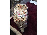 Large floral luggage maternity hospital bag BARGAIN!!!