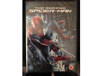 The amazing spider man DVD