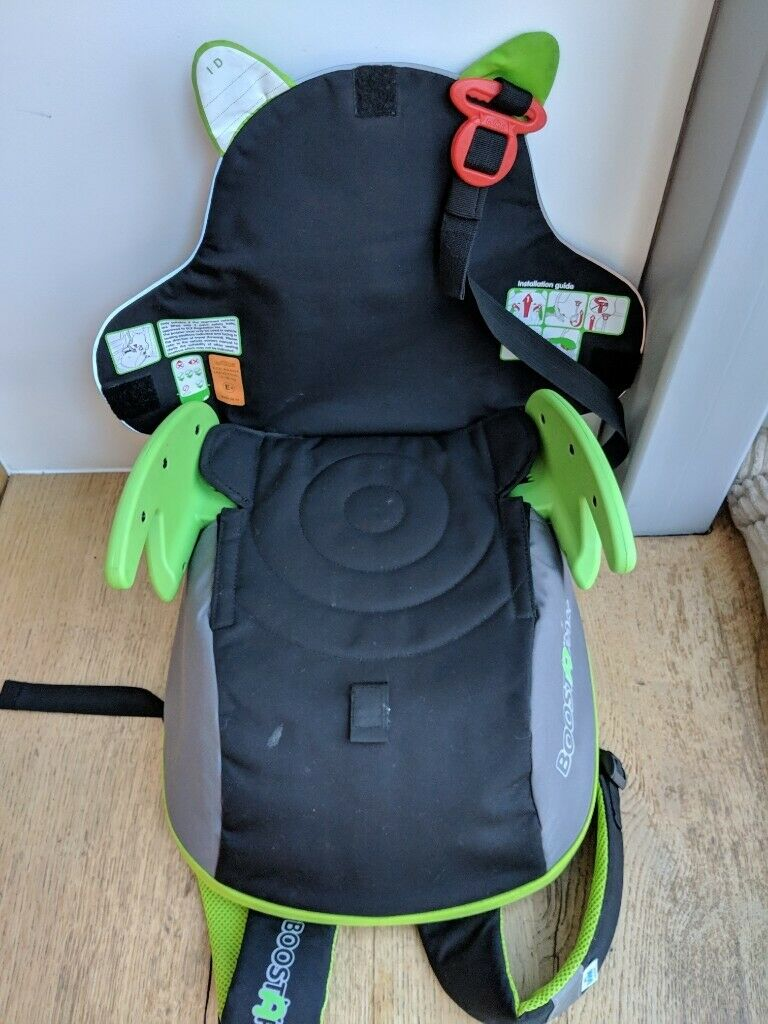 d20683ddb1 Trunki BoostApak - (two) Travel Backpack   Child Car Booster Seats for  Group 2-3