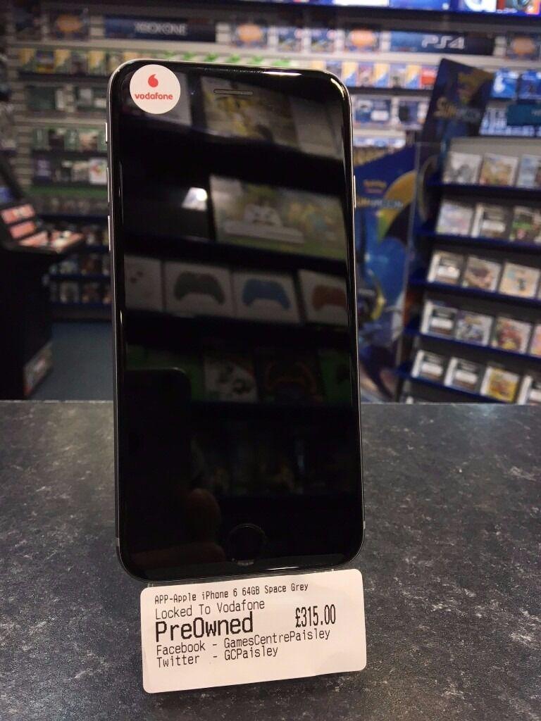 Apple iPhone 6 64GB Space Grey -- Vodafone