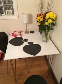 2 seater bistro dining table