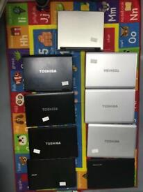 Core i3 laptops 32 pieces £2200 for all
