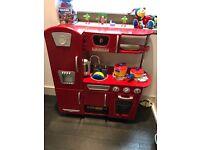 KidKraft Vintage Ktichen Set (Red)