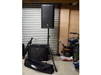 EV ZLX12P Active speakers