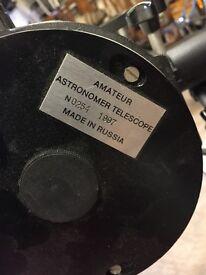 Amateur Astronomer Telescope