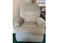 Celebrity Pembroke Dual Motor Lift/Tilt Reclining Chair. Tweed willow fabric.