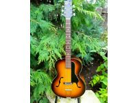 *Trade Considered - 1950's Antoria Arch Top Guitar - Vintage Sunburst Parlour Acoustic Jazz F Hole