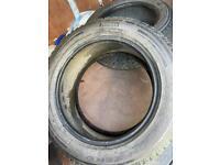 255 55 r19 Pirelli scorpion zero part worn tyres 5mm