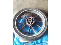 Motorcycle Front wheel ( 110-17 ) Tubeless