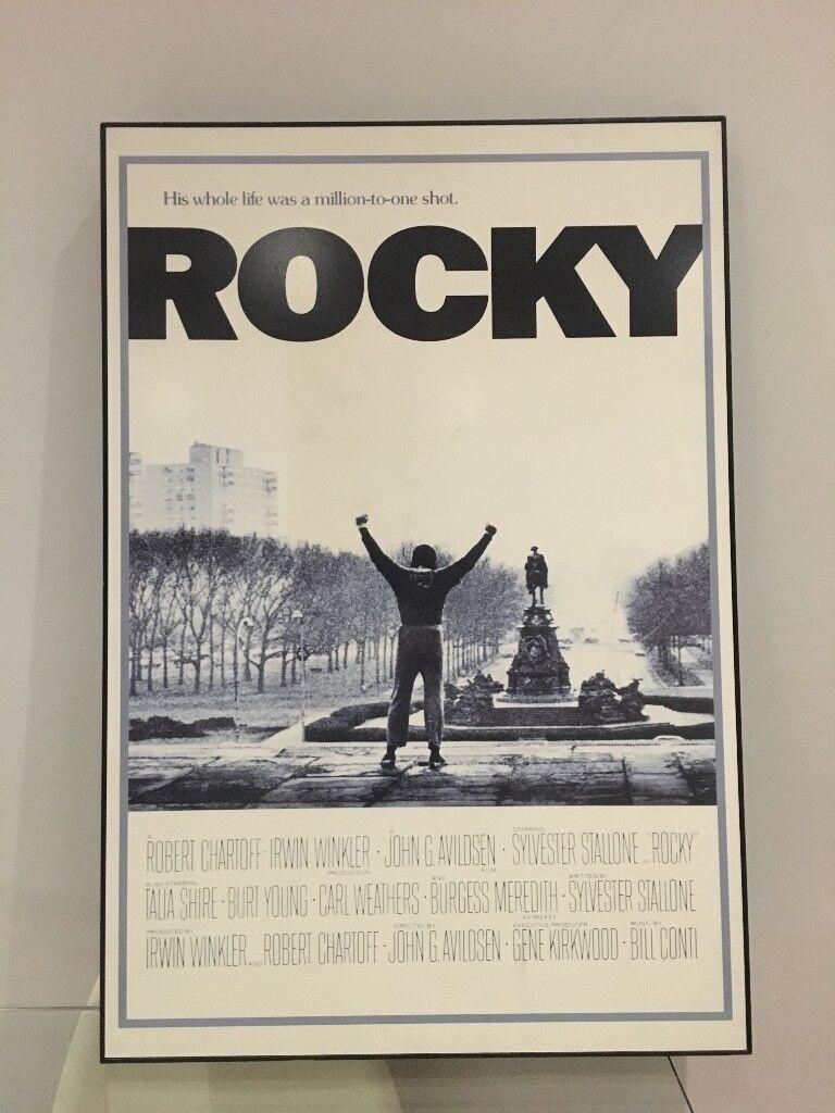 Rocky (film) Framed Poster Art Print   in Vauxhall, London   Gumtree