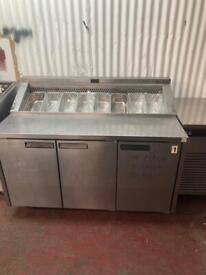 Commercial bench counter pizza fridge for shop fridge nanN