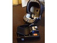Mammas i Pappas baby car seat
