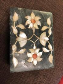 Stone and Pearl Box
