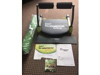 Smart Wonder Core Fitness System including Mat