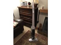 Bosch BCH625KTGB Athlet Upright Cordless Vacuum Cleaner, 0.9 L - White