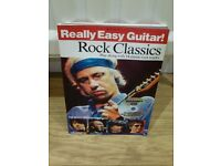 BOOK & CD - Really Easy Guitar! Rock Classics...
