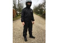 Hein Gerike medium rain suit for motorbike use. Excellent condition as worn only once