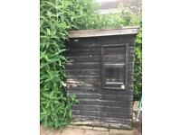 Garden or Chicken shed , dog kennel 4ft x4ft