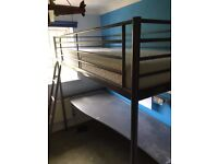 IKEA SVÄRTA Loft bed frame with desk top 207cm x 185cm x 96cm