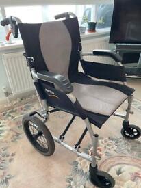 Ultra Lightweight Folding Wheelchair