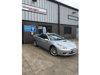 2004 Toyota Celica 'Red' Ltd Edition, low mileage 64,000 and 2 Owners, 3 keys