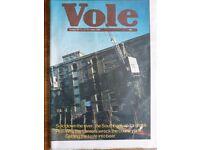 Vole Magazine Volume IV No6 June 1981.