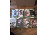 8 XBOX games, good and funny games, I am selling because I am leaving UK, urgent