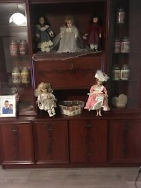 Solid wood Welsh dresser