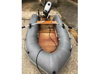 Avon s60 8.5ft dinghy with outboard