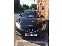 Mazda 6 Estate. Ideal family car. Great runner, very reliable.