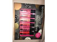 Seventeen Mini Lip gloss library