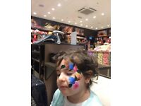 Face painting ,Glitter tattoos & Balloon modelling