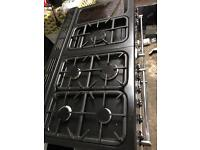 Range gas cooker and electric oven 110cm
