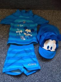 Disney Baby boy swim wear 6-9months