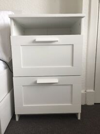 2 Ikea Brimnes Chest of Drawers