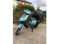 50cc Delivery Moped bike VERY LOW MILES YEAR MOT