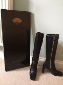 Karl Lagerfeld-Paris Black Knee length Boots