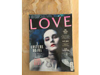 Near Mint Condition, Love Magazine Autumn Winter 2012 Cover Star Michelle Dockery (Lady Mary).