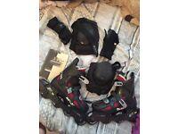 BAUER roller skates size 6