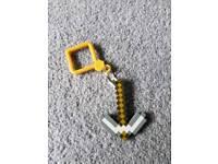 Minecraft key ring brand new