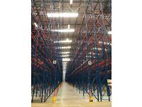 job lot 500 bays redirack pallet racking AS NEW( storage , shelving )
