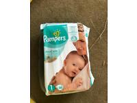 Pampers Size 1 - Brand New