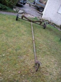 Free to good home - boat launching trolley