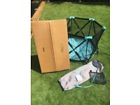 Summer infant pop 'n' play ultimate playpen with canopy