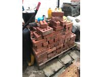 Approx 300 Tumbled Bricks - Old Style / Victorian Mock Reclaimed / Wall / BBQ