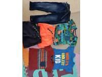 Baby boys 9-12 months summer shorts tshirts bundle br7
