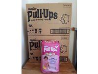 10 packs of Huggies Pull Ups - Large