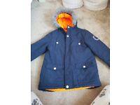 Mckenzie boys coat 6-7year