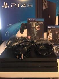 PS4 pro 1Tb new